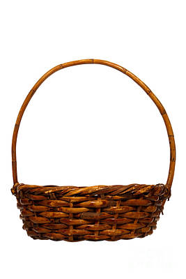 Photograph - Wicker Basket Number Eight by Olivier Le Queinec