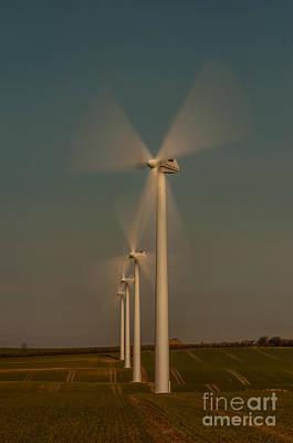 Photograph - Windpower by Jorgen Norgaard