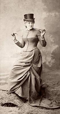 1880s Photograph - Women's Fashion, 1880s by Granger