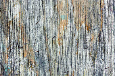 Wood Background Art Print by Tom Gowanlock