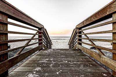 Photograph - Wooden Entrance by Peter Lakomy