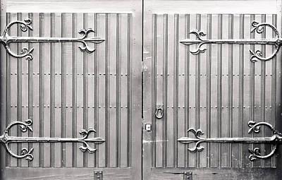 Wooden Gate Art Print by Tom Gowanlock