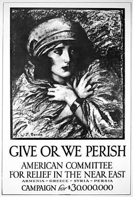 World War I Refugees Art Print