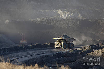 Wyoming Coal Mine Art Print