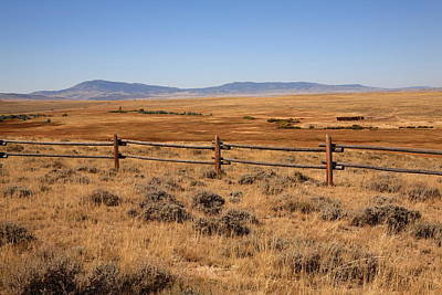 Photograph - Wyoming Landscape by Frank Romeo