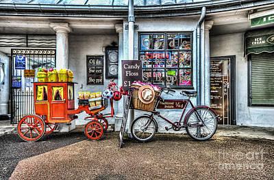 Ye Olde Sweet Shoppe Art Print by Steve Purnell