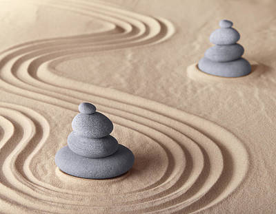 Photograph - Zen Meditation Garden by Dirk Ercken
