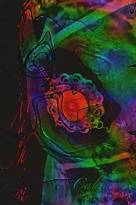Digital Art - 50 Caliber Psychedelic  by Mayhem Mediums