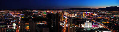 Photograph - Las Vegas Nevada. by Songquan Deng