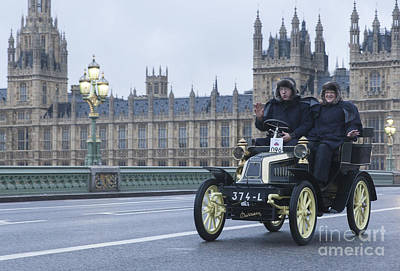 London To Brighton Veteran Car Rally Art Print by Philip Pound