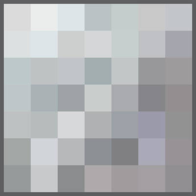 50 Shades Of Grey Art Print by Richard Reeve