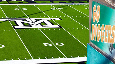 Photograph - 50 Yard Line by Fran Riley