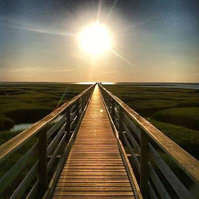 Marsh Photograph - Grey's Beach by Dan Gilrein