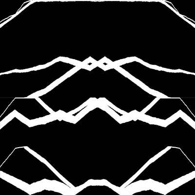 Opaque White Digital Art - 5040.15.24 by Gareth Lewis