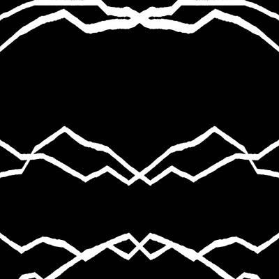 Black Digital Art - 5040.15.44 by Gareth Lewis