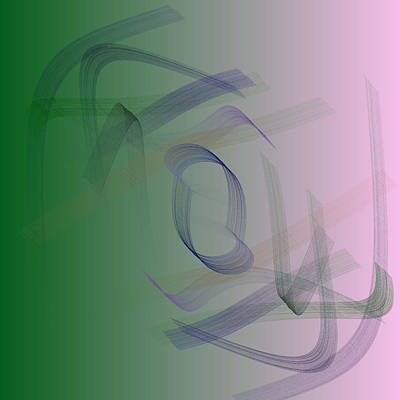 Square Digital Art - 5040.25.5 by Gareth Lewis