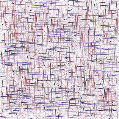 Vertical Digital Art - 5040.8.1 by Gareth Lewis