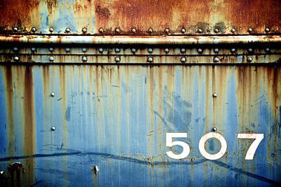 Of Trains Photograph - 507 by Brandon Addis