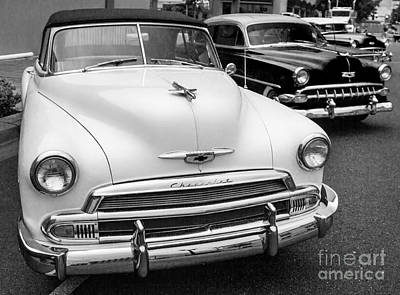 Photograph - 50's Chevrolet by Sonya Lang
