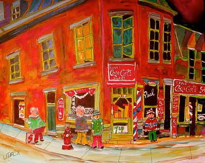 51 Demontigny Barber Shop Original