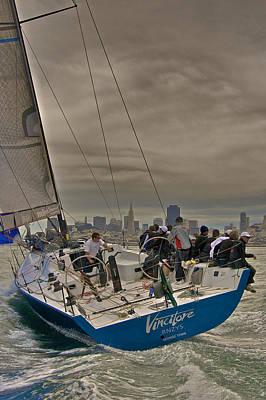 Photograph - San Francisco Regatta by Steven Lapkin