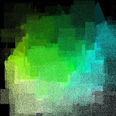 Gold Digital Art - 5120.5.1 by Gareth Lewis