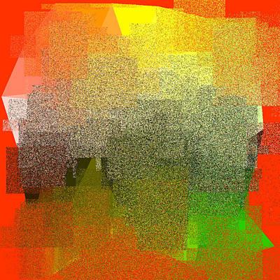 Gold Digital Art - 5120.5.10 by Gareth Lewis