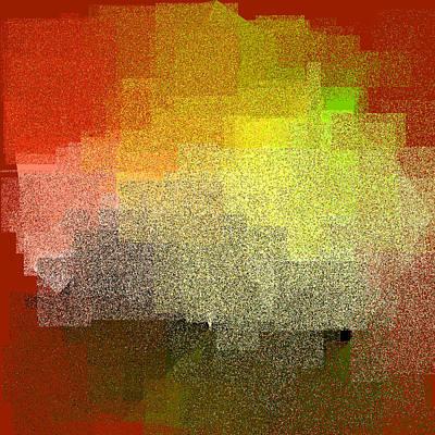 Square Digital Art - 5120.5.26 by Gareth Lewis