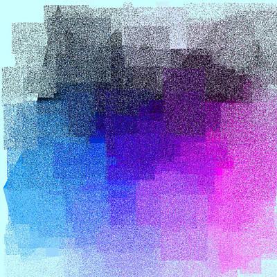Turquoise Digital Art - 5120.5.32 by Gareth Lewis
