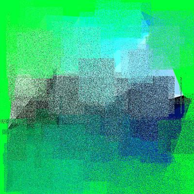 Geometry Digital Art - 5120.5.42 by Gareth Lewis