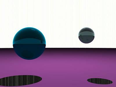 Purple Digital Art - 5120x3840.1.18 by Gareth Lewis