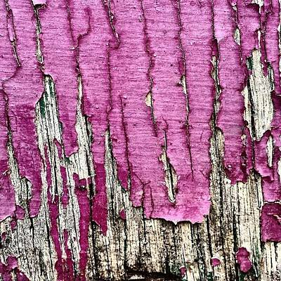 Abstract Wall Art - Photograph - Flaky Paint 2 by Jason Michael Roust