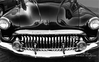 Photograph - 52 Buick Grin by Nathan Mccreery