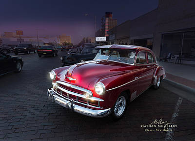 Photograph - 52 Chevy Deluxe by Nathan Mccreery
