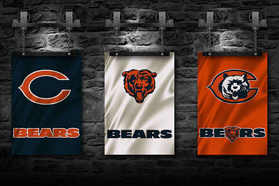 Chicago Bears Art Print by Joe Hamilton