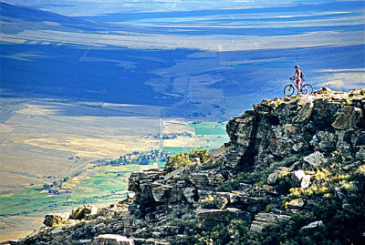 Sports Royalty-Free and Rights-Managed Images - Mountain Bike by Elijah Weber