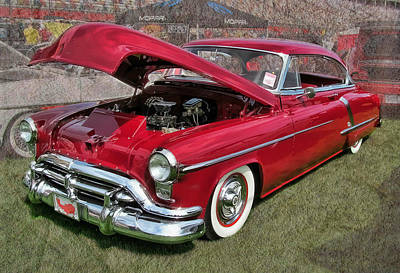 '52 Oldsmobile Art Print by Victor Montgomery
