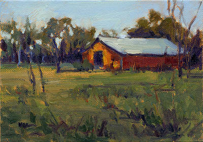 Painting - Afternoon At The Ranch 3 by Konnie Kim
