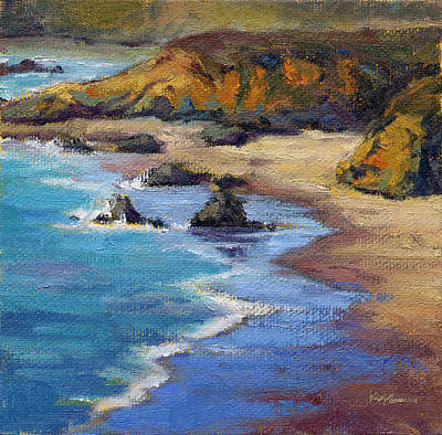 Painting - 520926 Coastal Cruising 2 By Konnie Kim by Konnie Kim