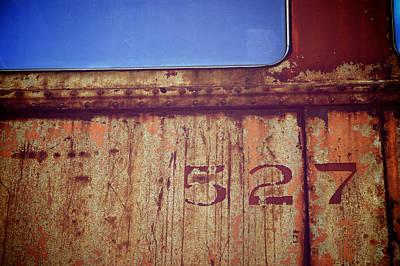 Of Trains Photograph - 527 by Brandon Addis