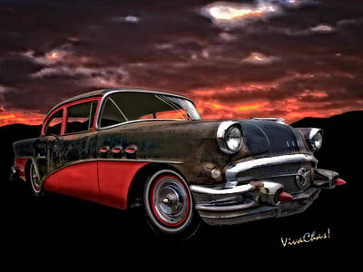53 Buick Special Two Door Art Print