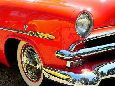 Wall Art - Photograph - '53 Ford Crestline by Mickey Murphy