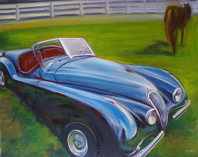Painting - 53 Jag by Kaytee Esser