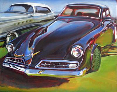 Painting - 53 Studebaker Commander Regal by Kaytee Esser