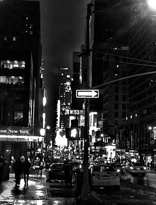 Photograph - 53rd And 7th by Robert Meyers-Lussier