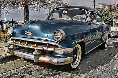 '54 Chevy Art Print by Victor Montgomery