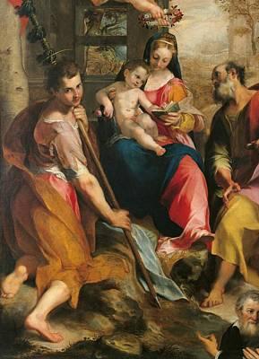 St. Jude Photograph - Italy, Marche, Pesaro Urbino, Urbino by Everett