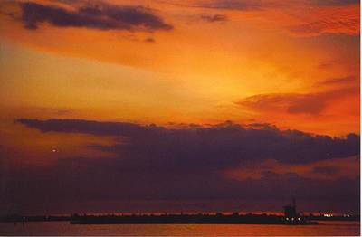 Coal Barge Photograph - Sky Scape by Robert Floyd