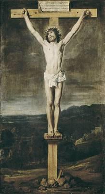 Religious Jesus On Cross Photograph - Velazquez, Diego Rodr�guez De Silva by Everett
