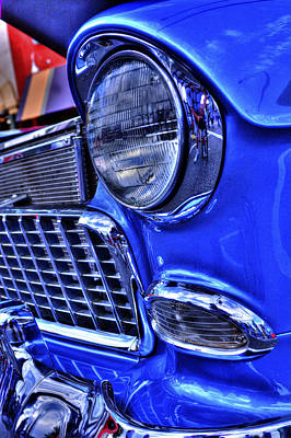 Photograph - '55 Chevrolet by Richard J Cassato